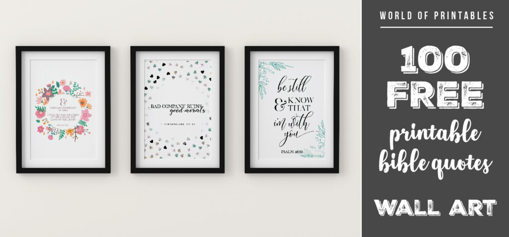 100 free printable bible quotes and verse wall art