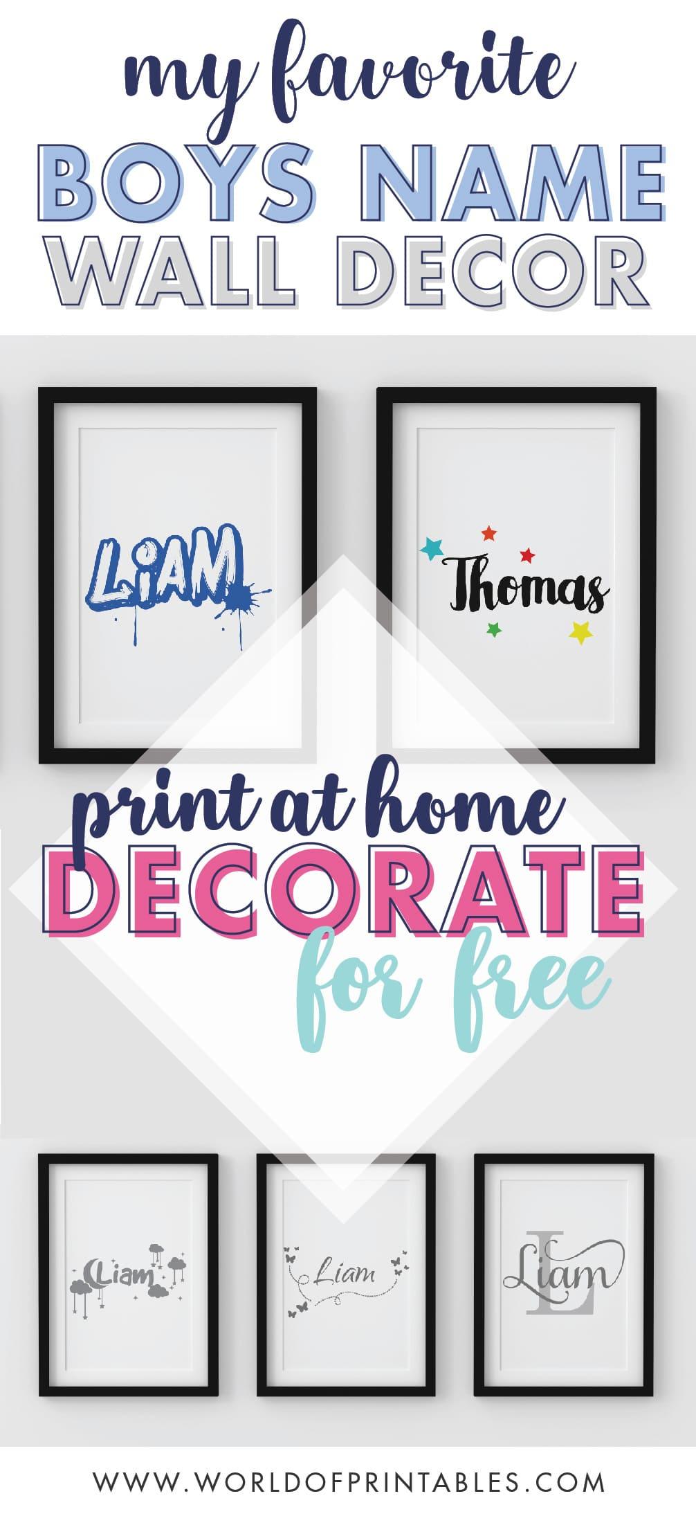 My-Favorite-Boys-Name-Nursery-Wall-Art-Prints-Decor-Ideas