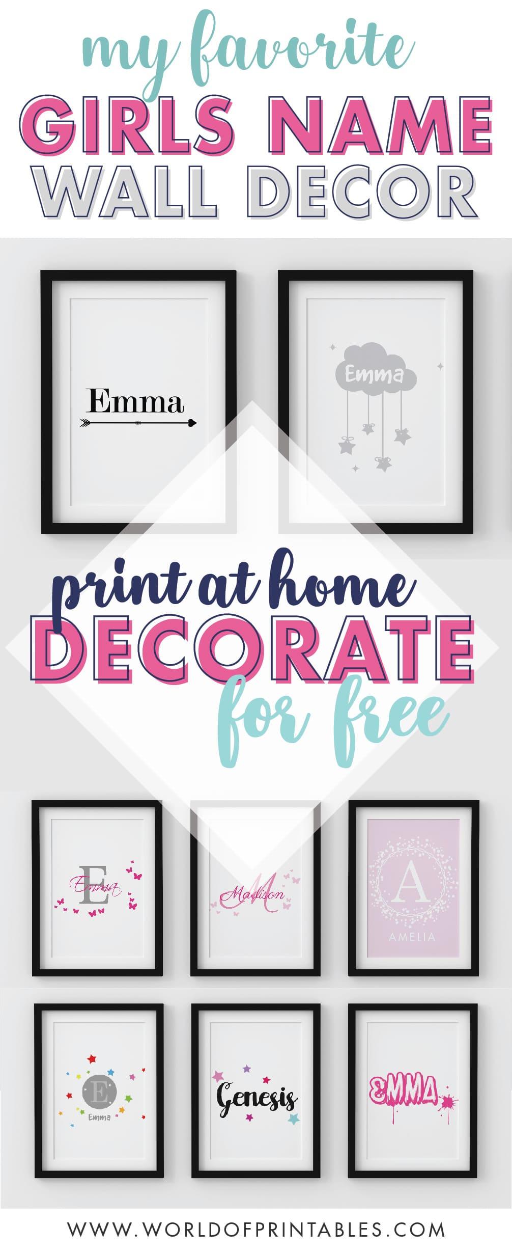 My-Favorite-Girls-Name-Nursery-Art-Prints-wall-art-home-decor-ideas