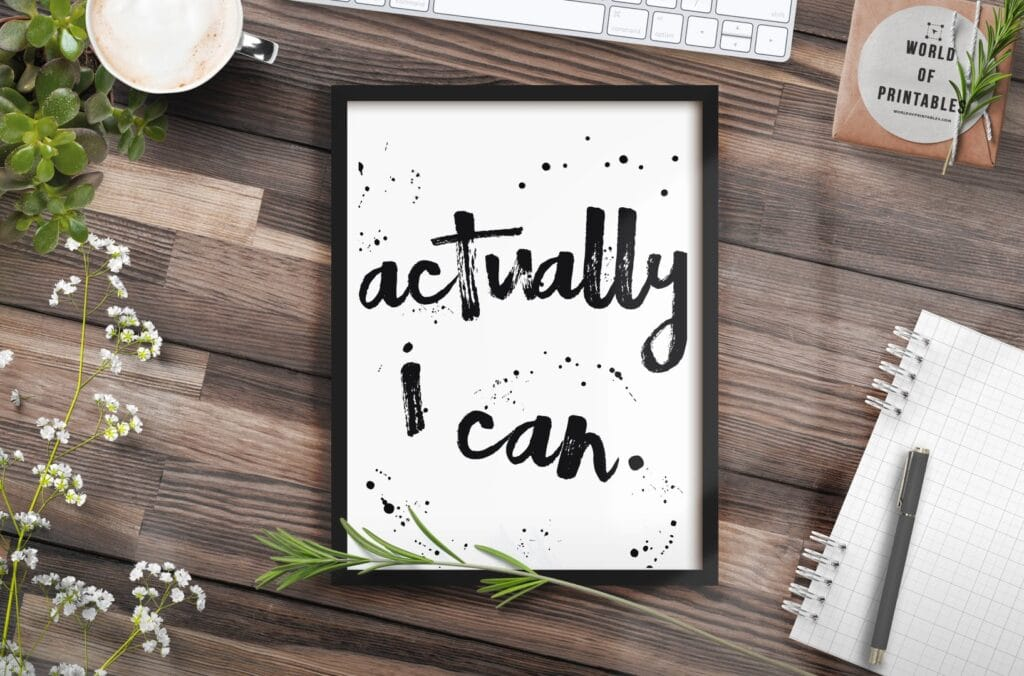 actually i can mockup 2 - Printable Wall Art
