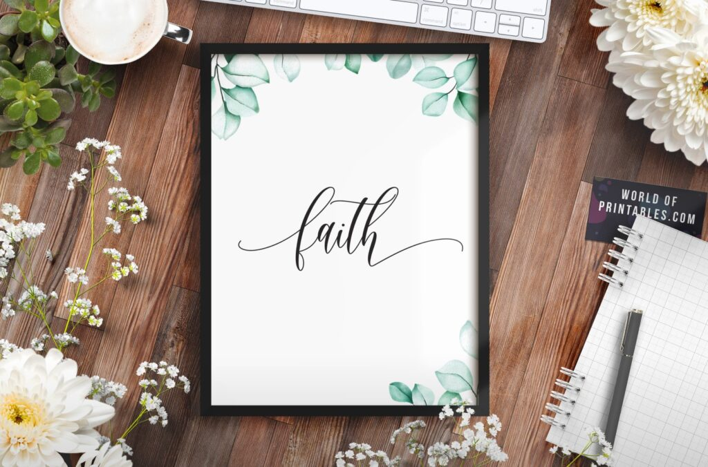 faith - Printable Wall Art