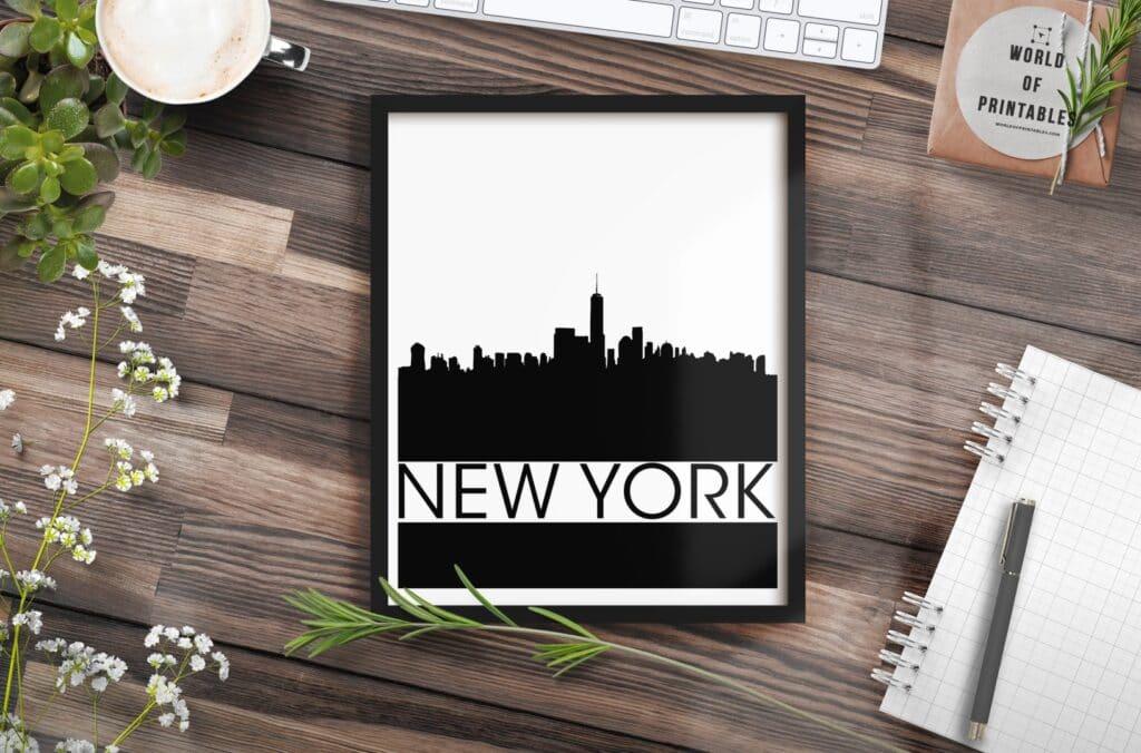 new york mockup alt 3 - Printable Wall Art