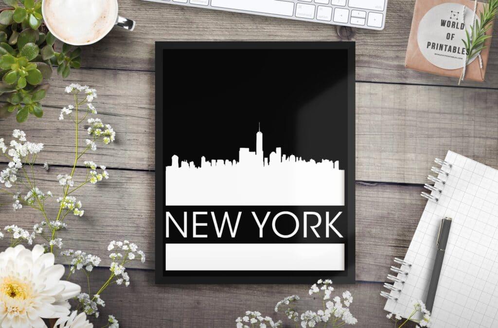 new york mockup alt 4 - Printable Wall Art
