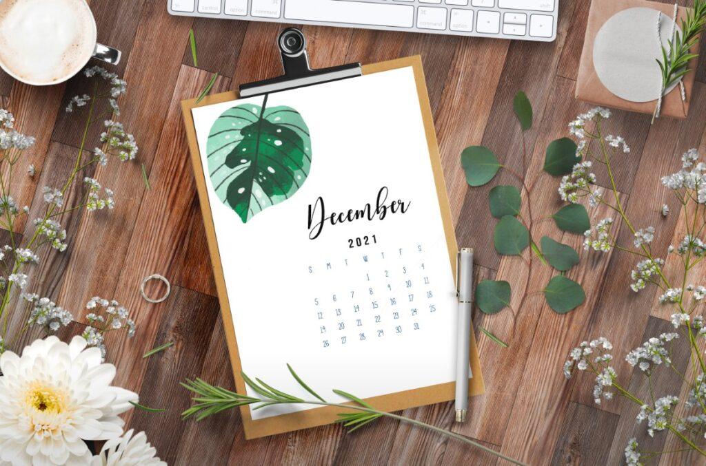 Free Printable Calendar 2021 - calendar 13 mockup 6