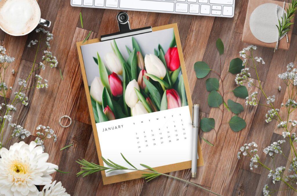 Free Printable Calendar 2021 - calendar 57 mockup 3