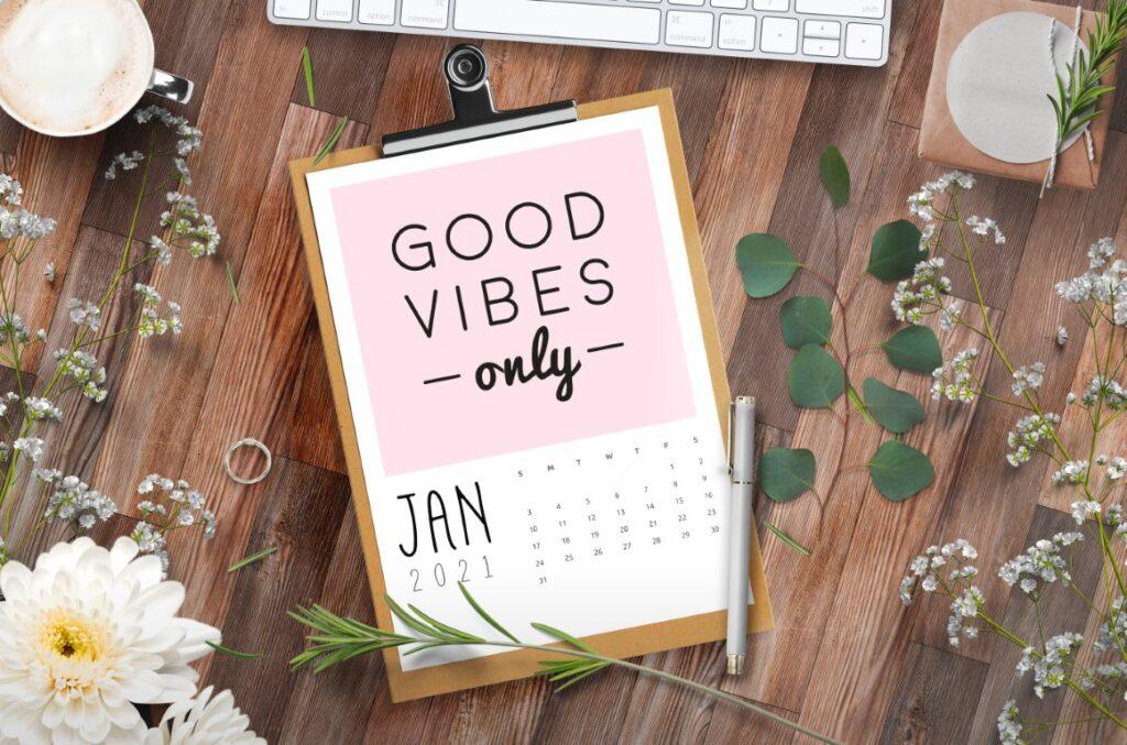 Free Printable Calendar 2021 - calendar 60 mockup 3