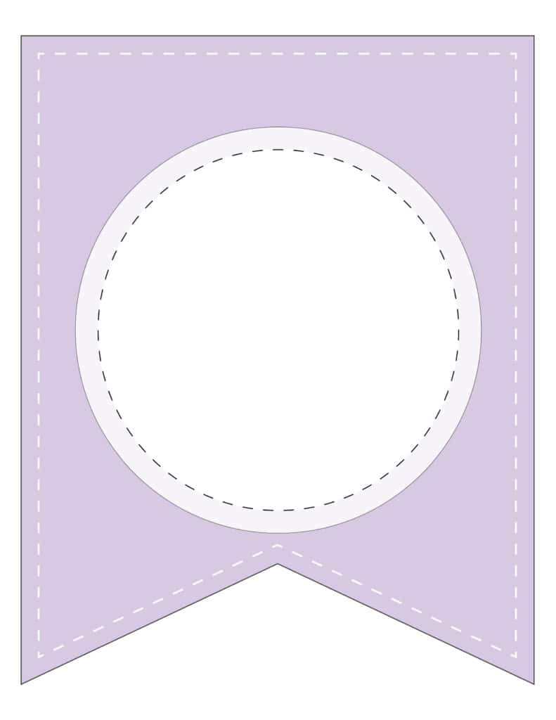 Free Printable colorful blank banner letters, custom blank banners that you can print for a birthday party, baby or bridal shower.