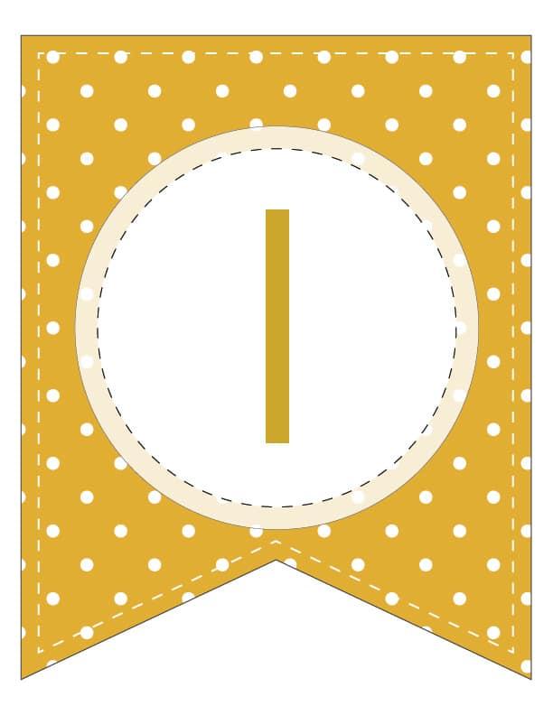 Free Printable Colorful Polka Dot Happy Birthday Banner ...