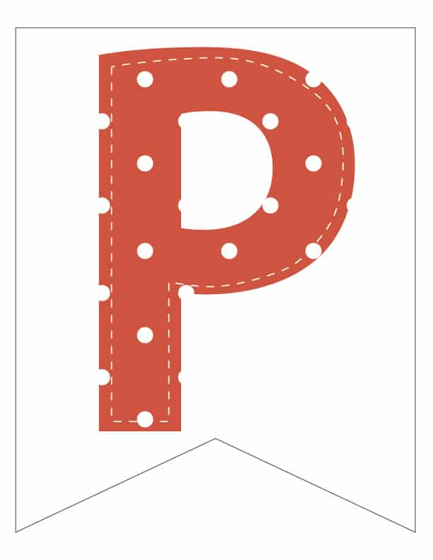 Free Printable Colorful Polka Dot Party Banner Letters. Happy birthday banner ideas. Birthday party decor. Custom it is your birthday banner.