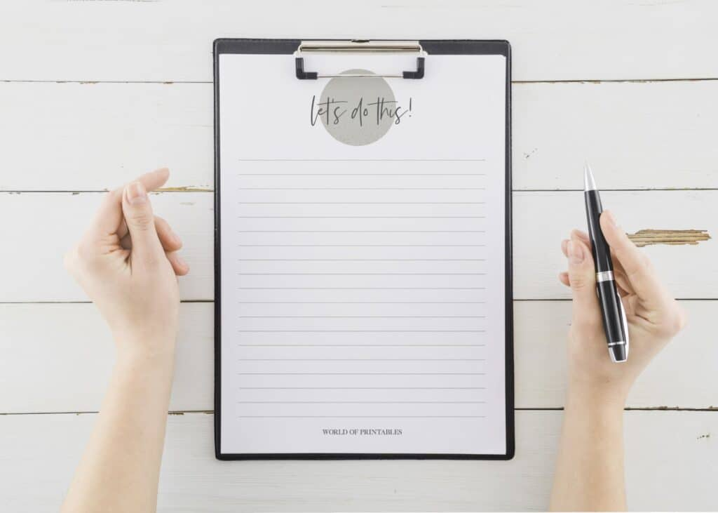 Encouraging To Do List