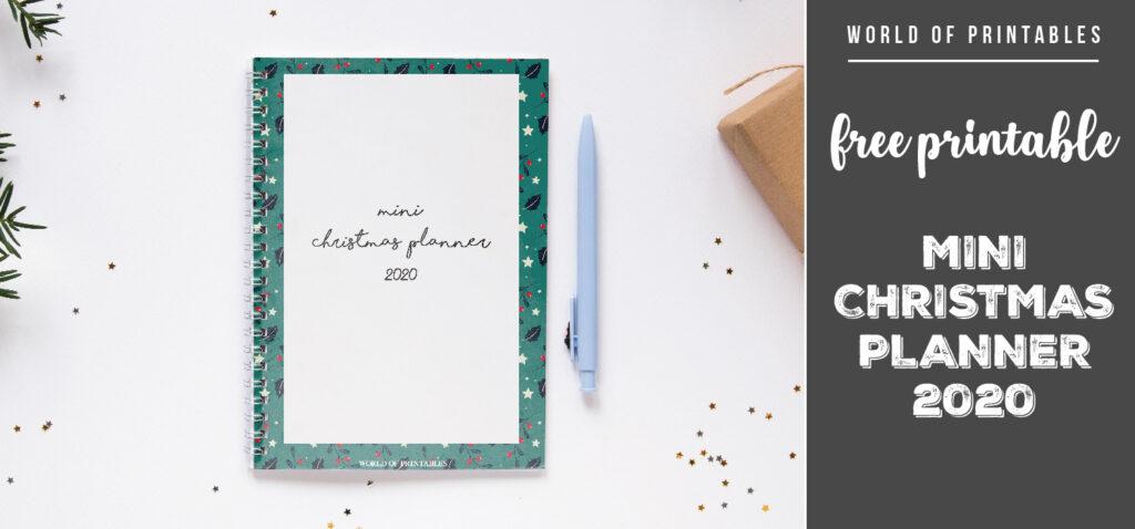 Free Printable Mini Christmas Planner 2020