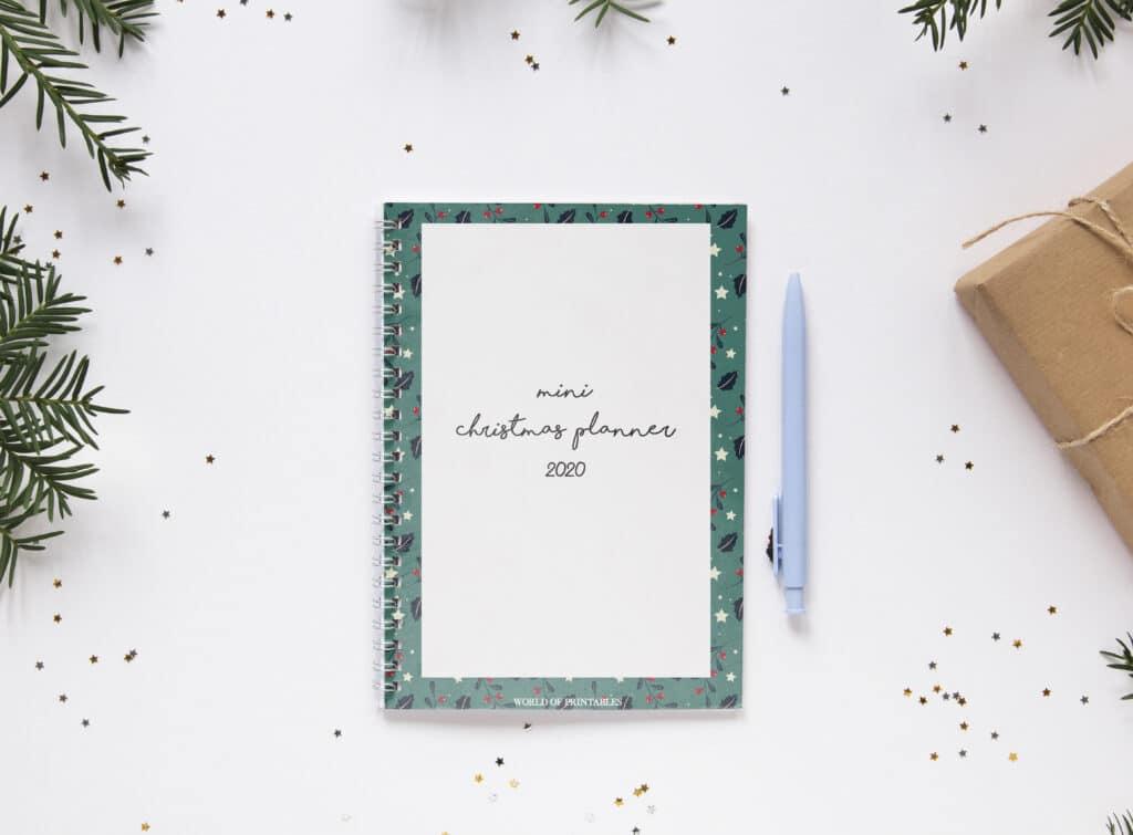 Mini Christmas Planner printable