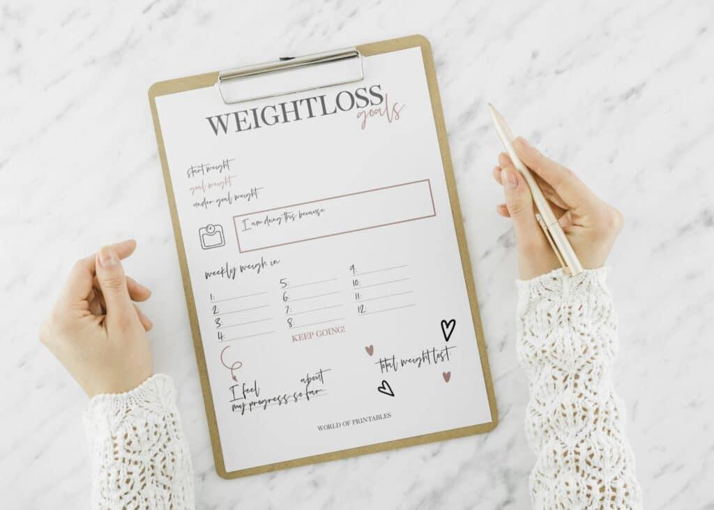 Weightloss Goal Tracker