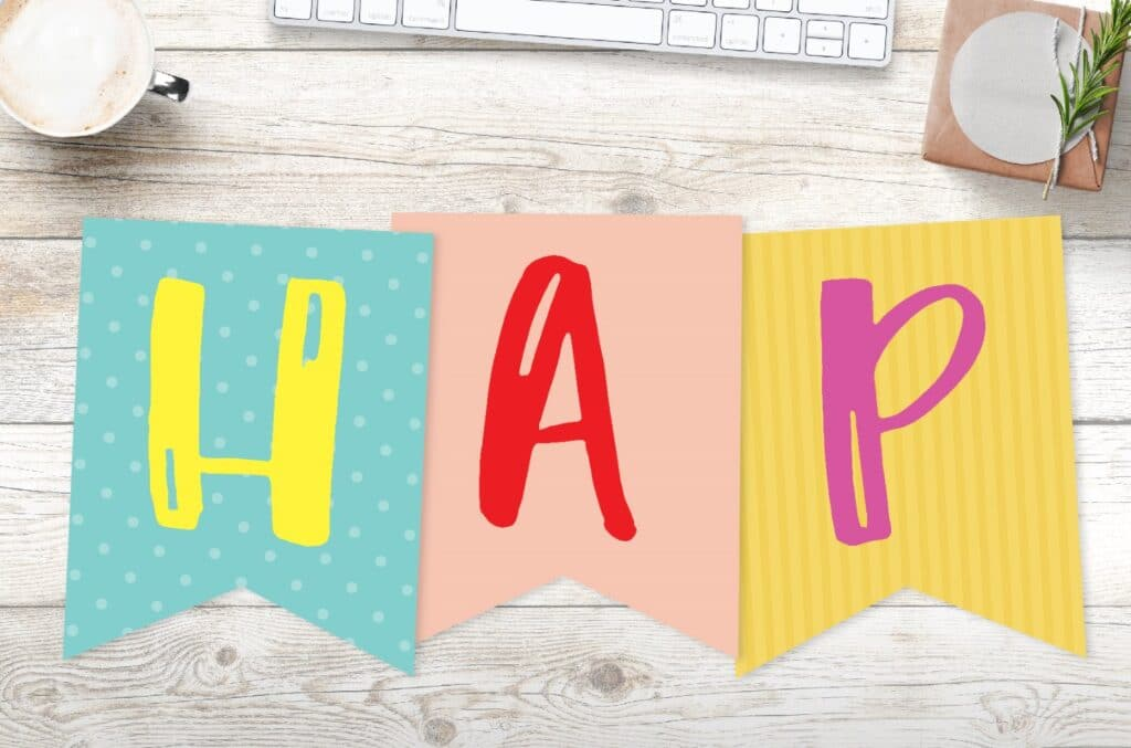 Free printable happy birthday banners