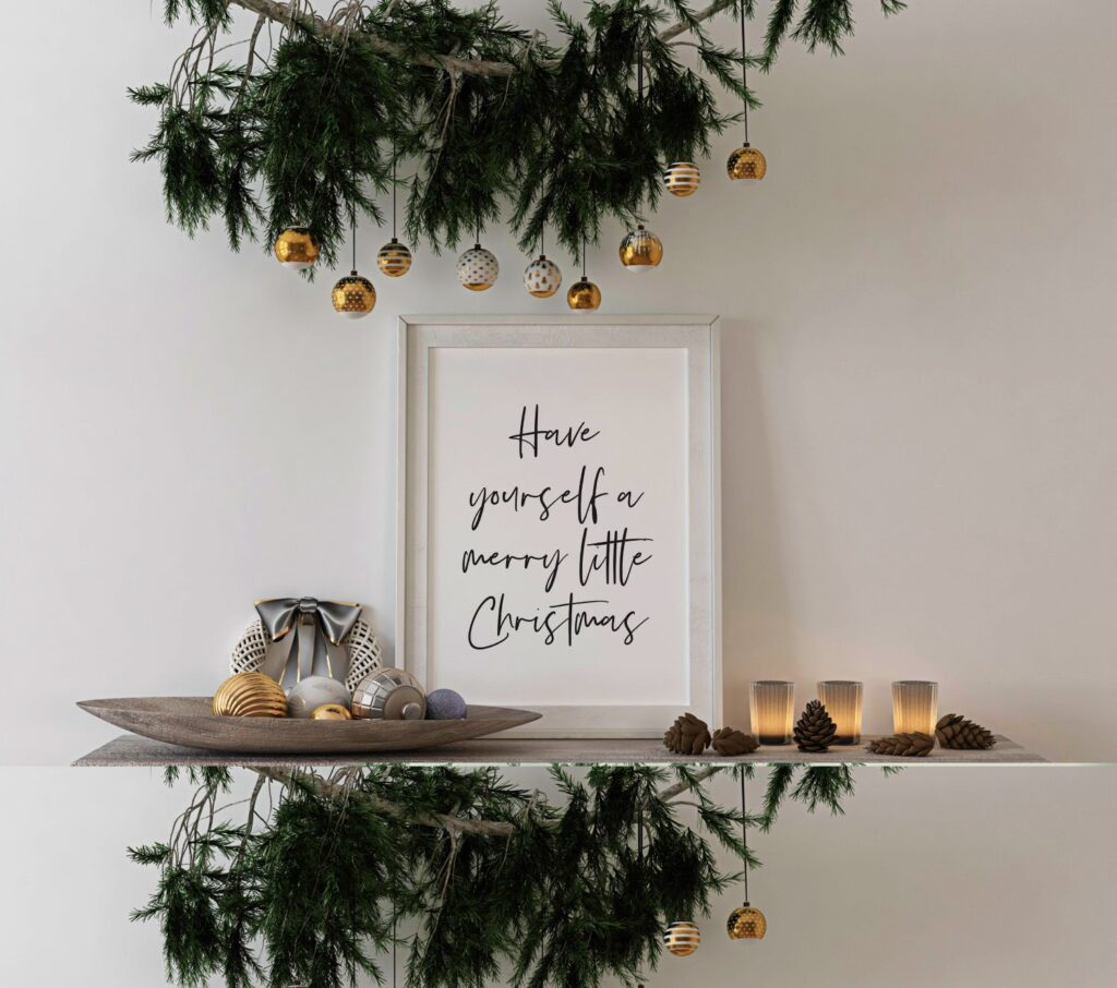 Free Have yourself a merry little Christmas Print