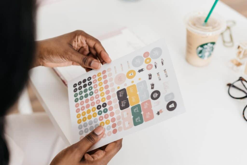 Free Bullet Journal Stickers