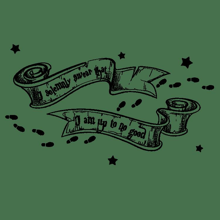 Harry Potter - I Solemnly Swear SVG