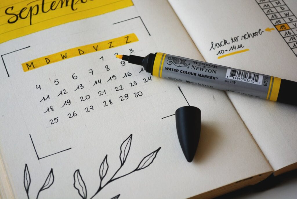 How to start a bullet journal in the middle of the year