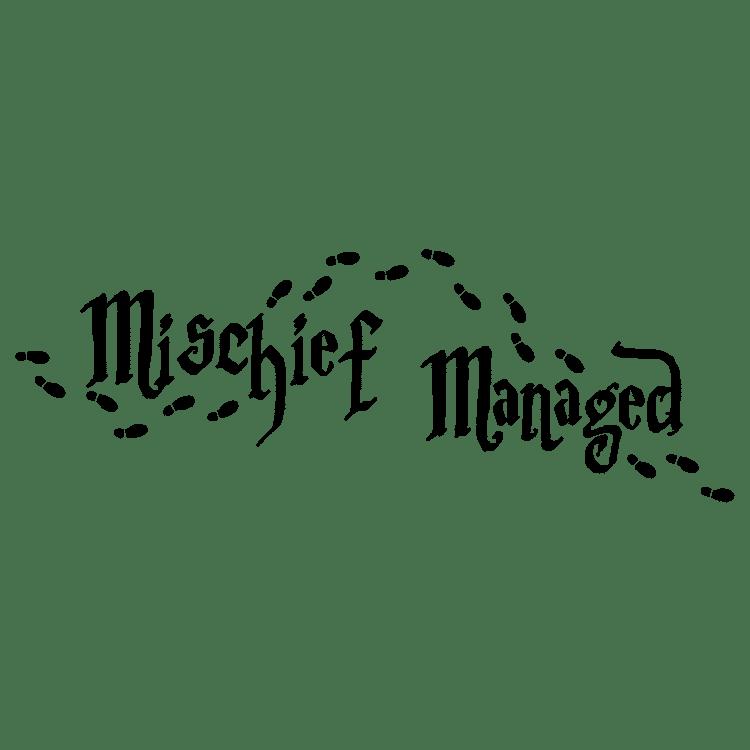 Mischief Managed - Free SVG