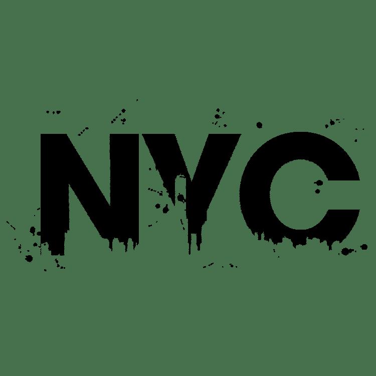 NYC paint splatters - Free SVG