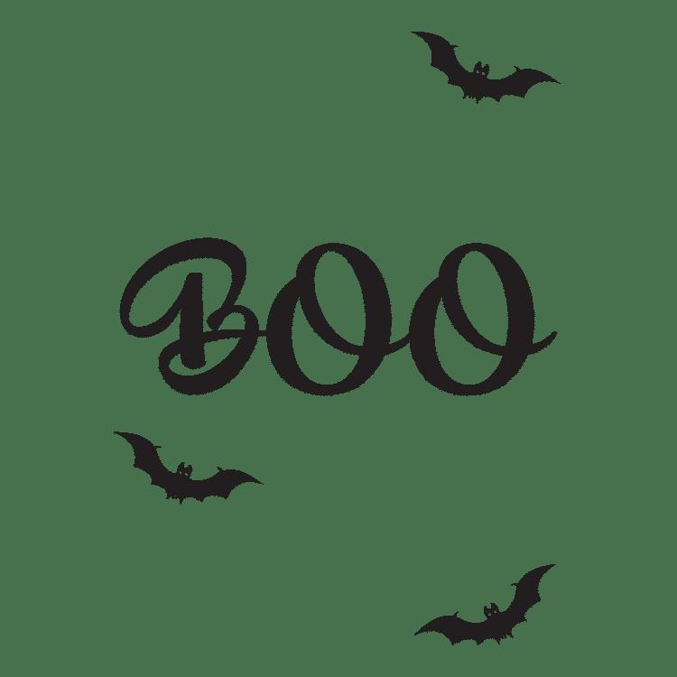 boo print halloween - Free SVG