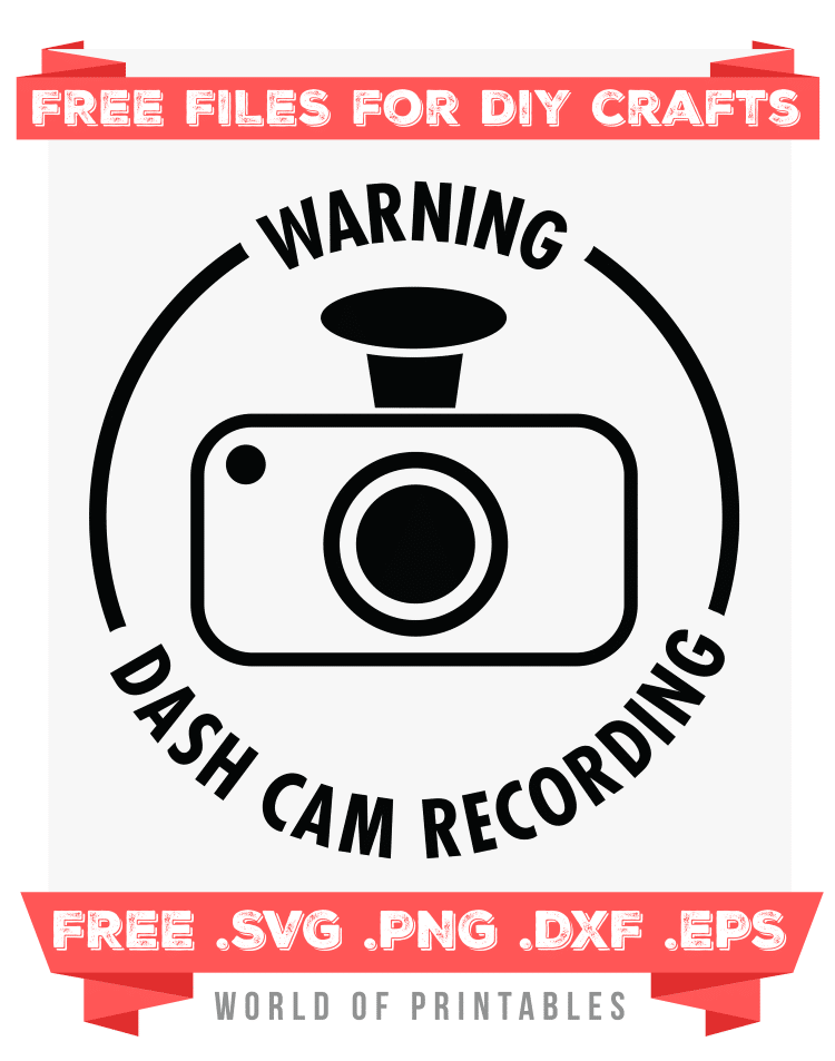 dash cam Free SVG Files PNG DXF EPS