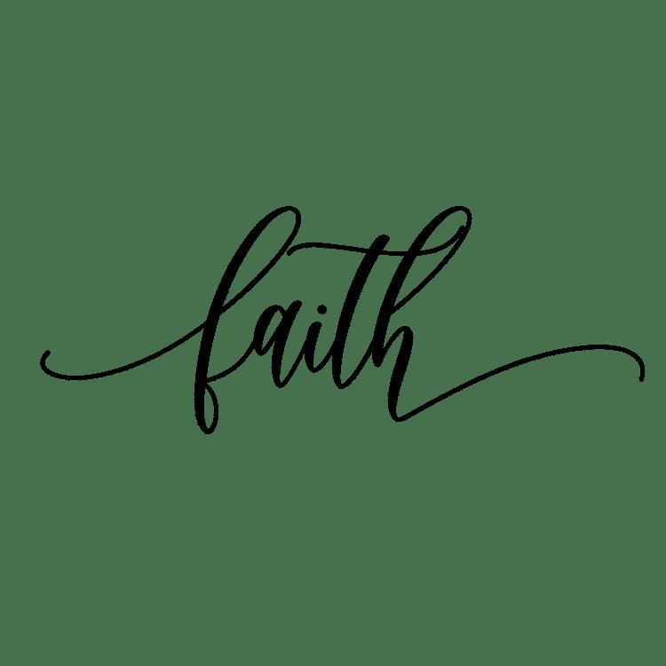 faith - Free SVG