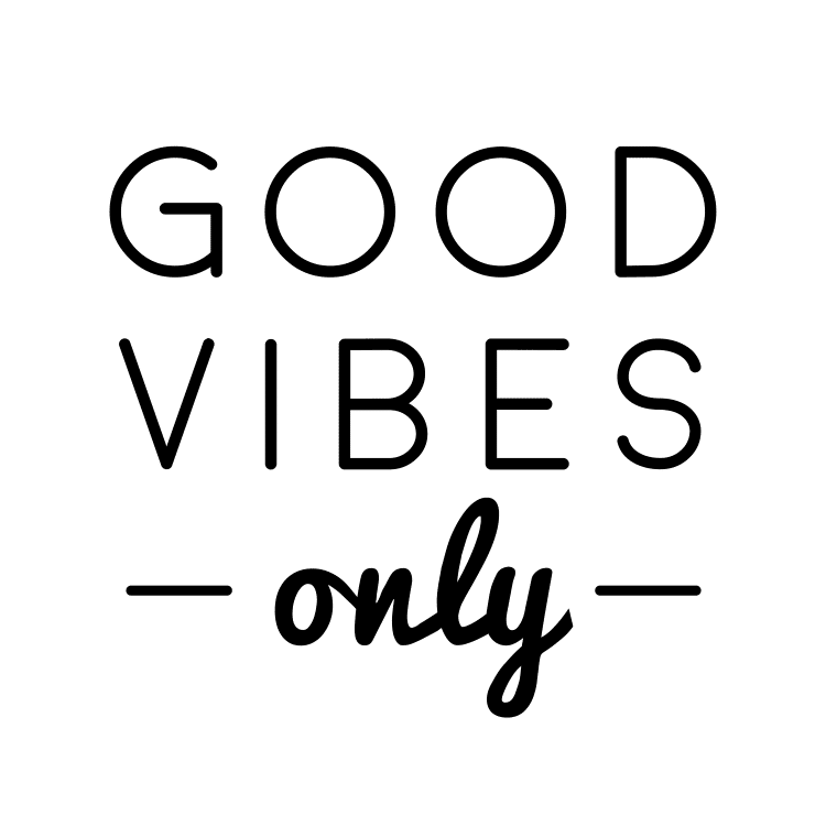 good vibes only - Free SVG