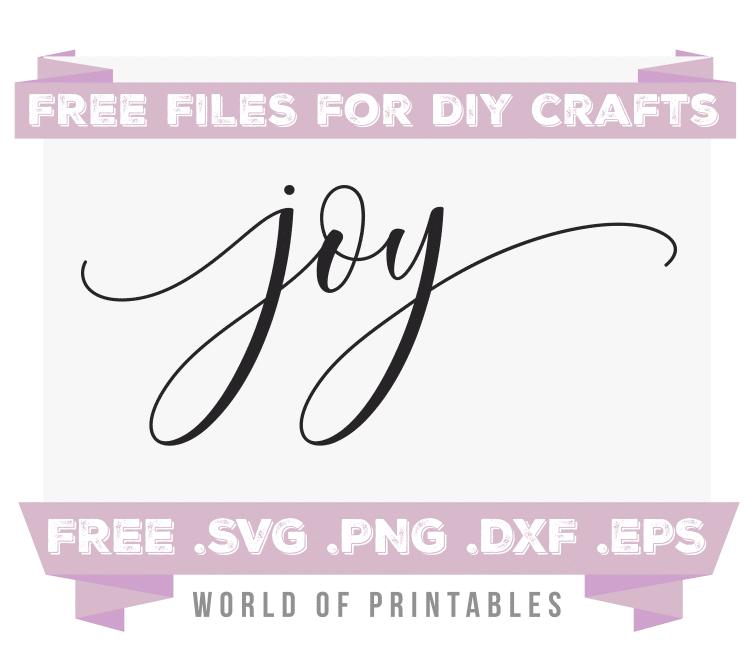 Download Joy Free SVG Files | SVG, PNG, DXF, EPS