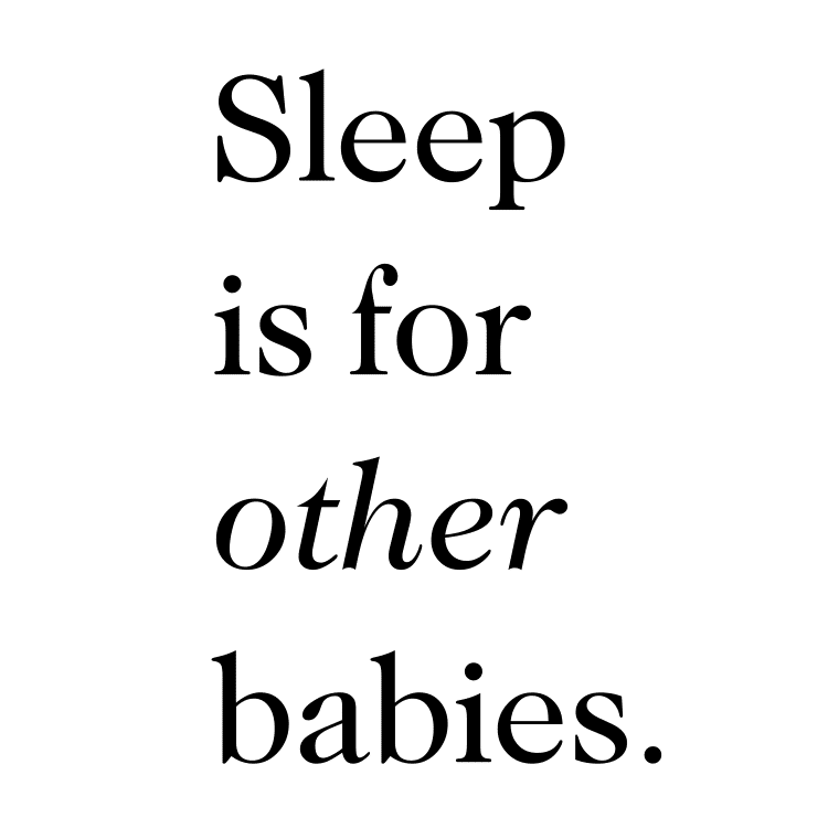 sleep is for other babies - Free SVG