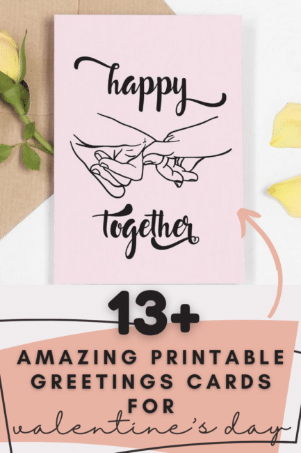 13 amazing printable greetings cards for valentines day - World of Printables