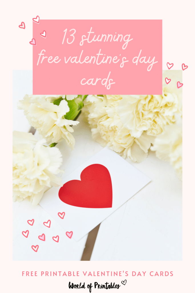 13 stunning free valentines day cards to print