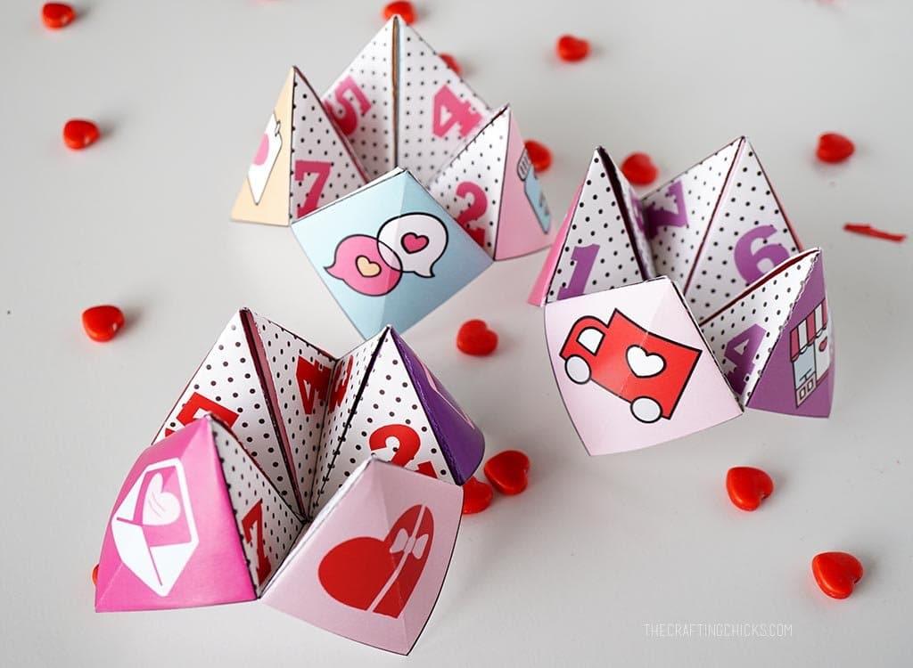 Valentine Cootie Catchers