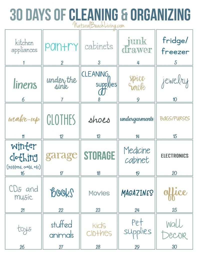 30-Days-of-Cleaning-Organizing