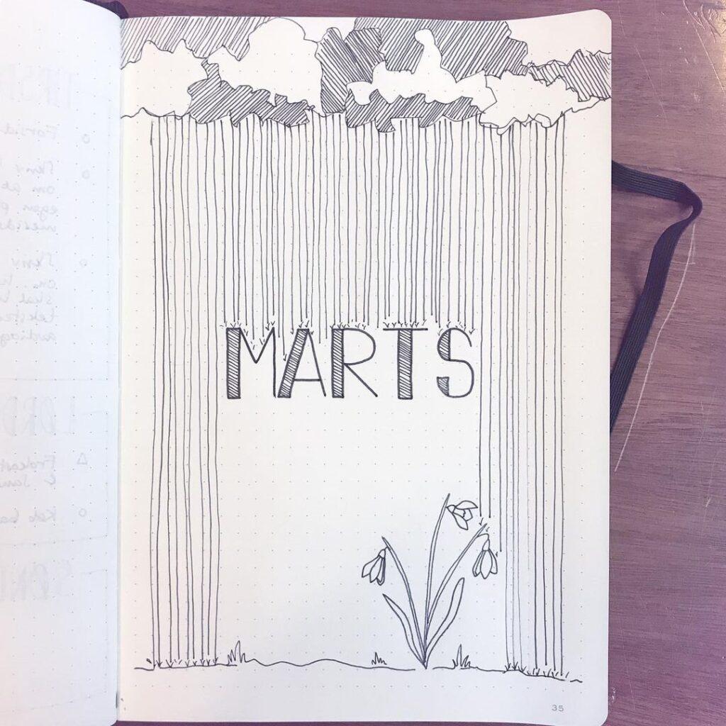 Spring Bullet Journal Inspiration