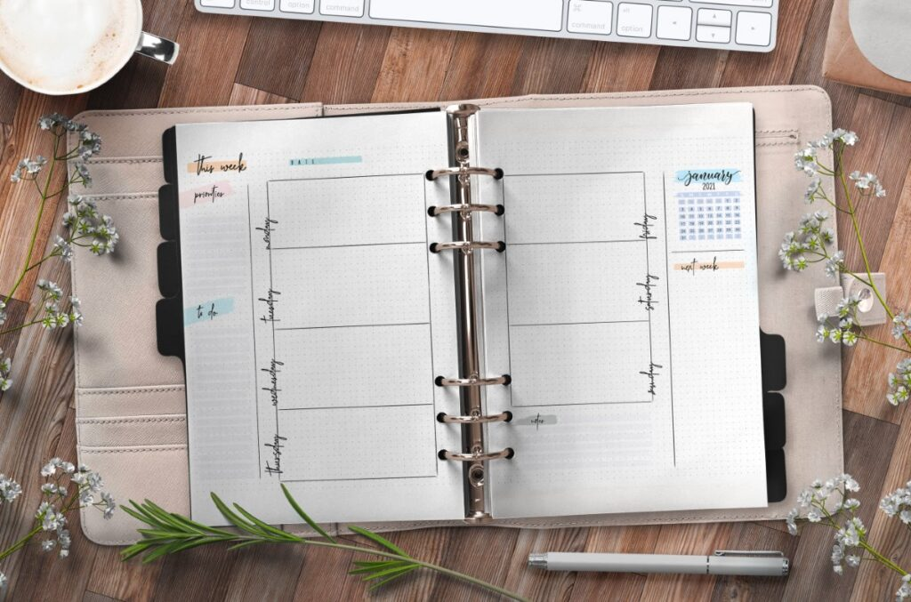 Bullet Journal Weekly Planner Pages Free Printable