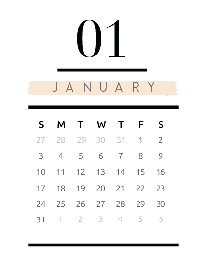 Calendar Planner Page Insert-02