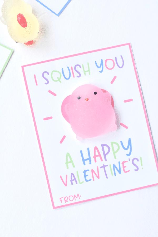 Squishy Valentine Cards