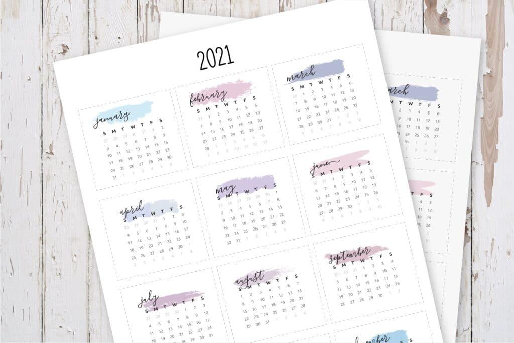 Mini Calendar Planner Stickers-4