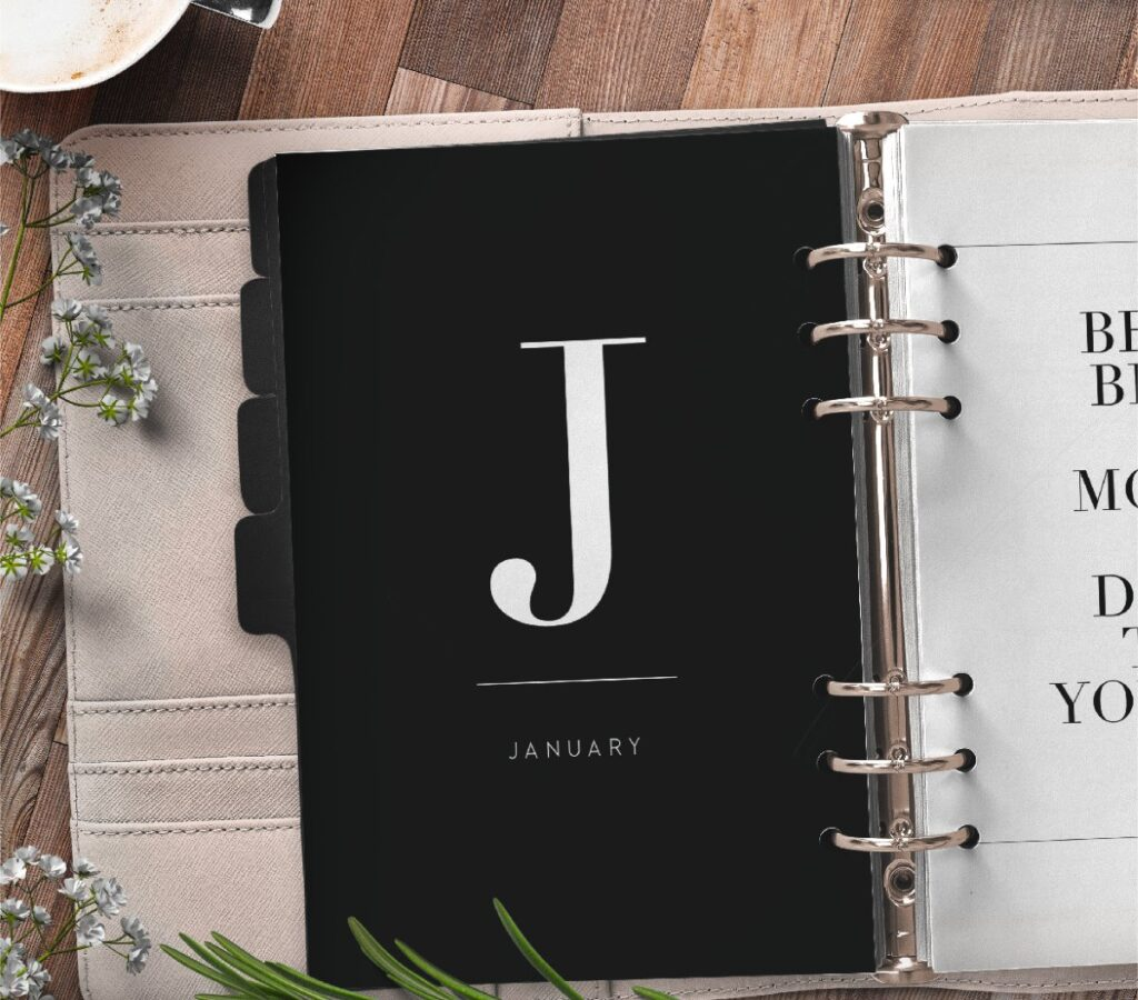 Monthly Planner Divider Pages Free Printable 1