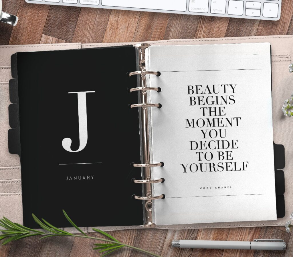 Monthly Planner Divider Pages Free Printable 2