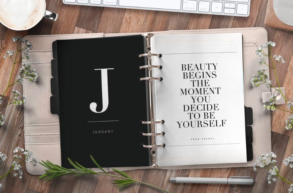 Monthly Planner Divider Pages Free Printable 3