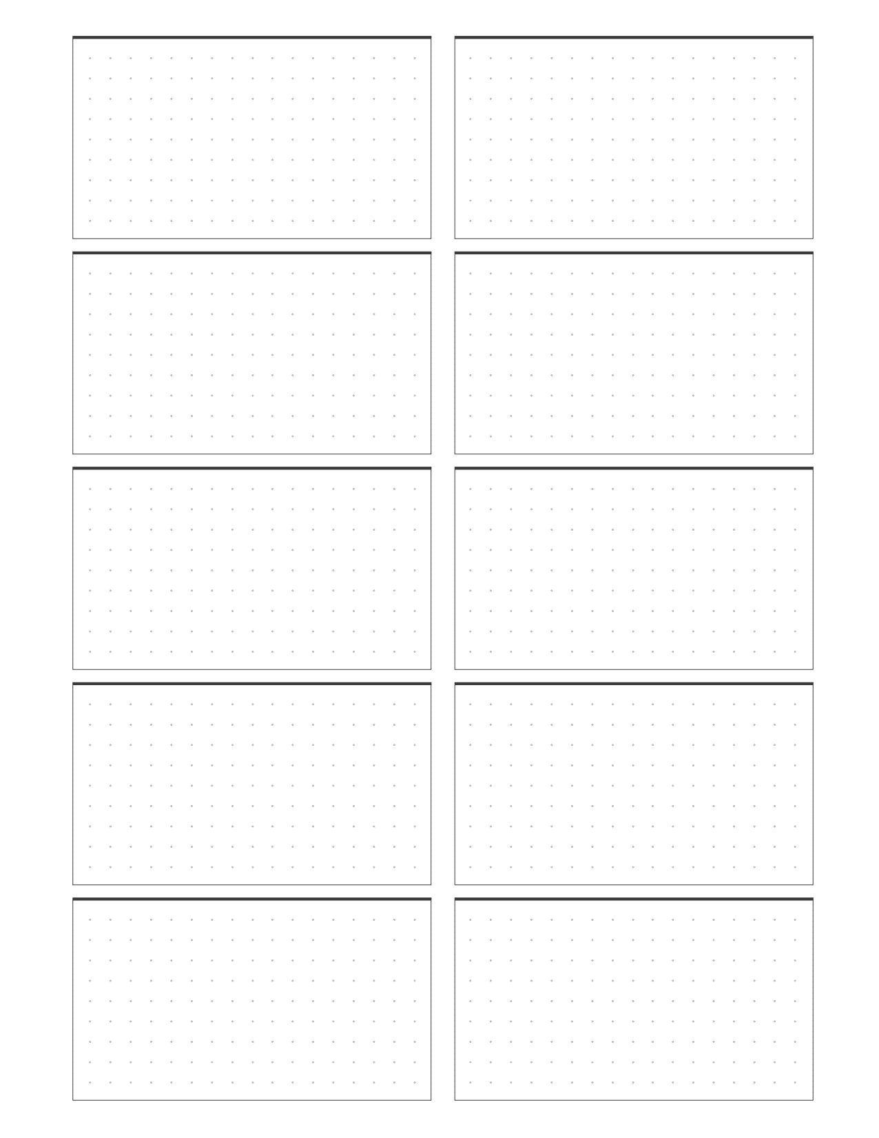Planner Notes Insert On One Page