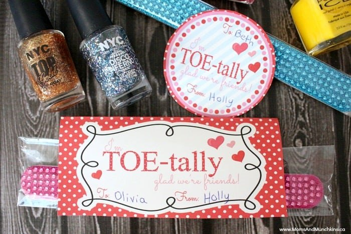 Manicure and Pedicure Valentine's Day Printable
