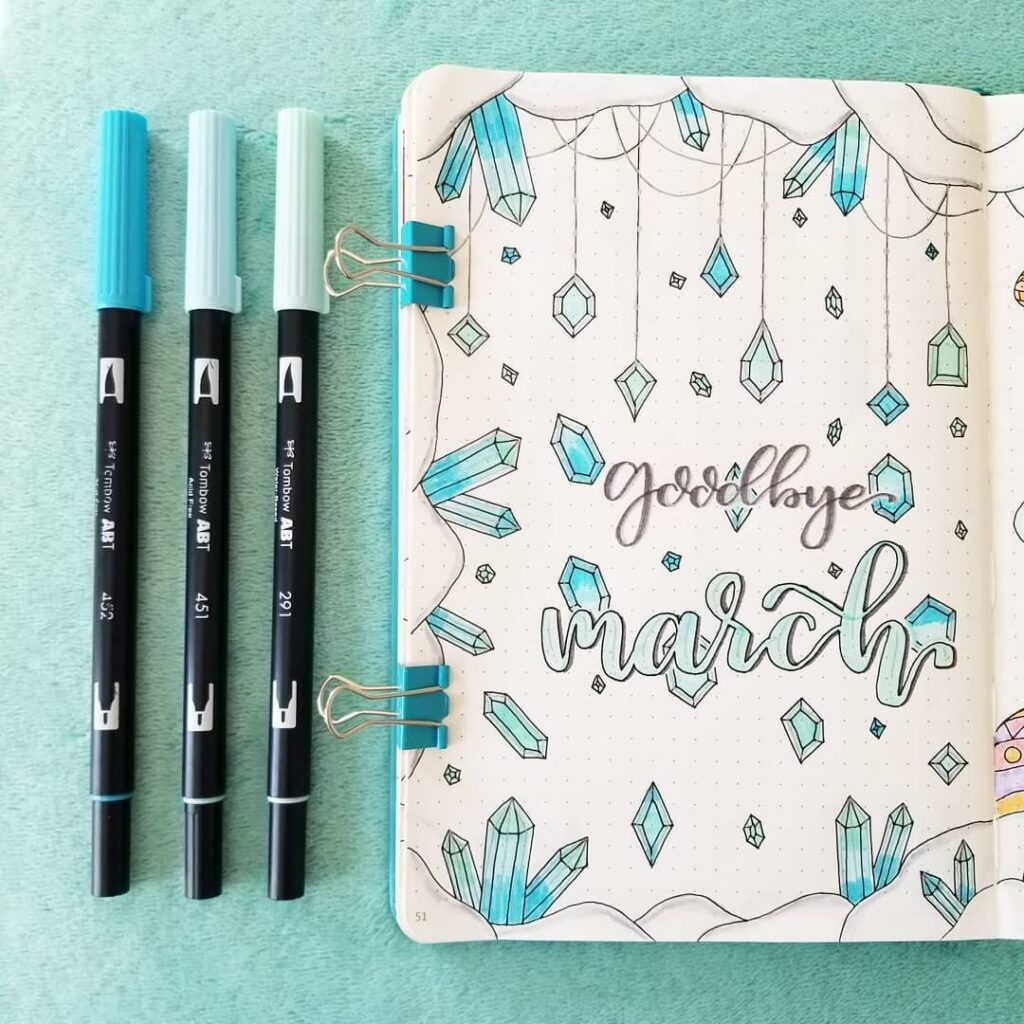 march cover page ideas