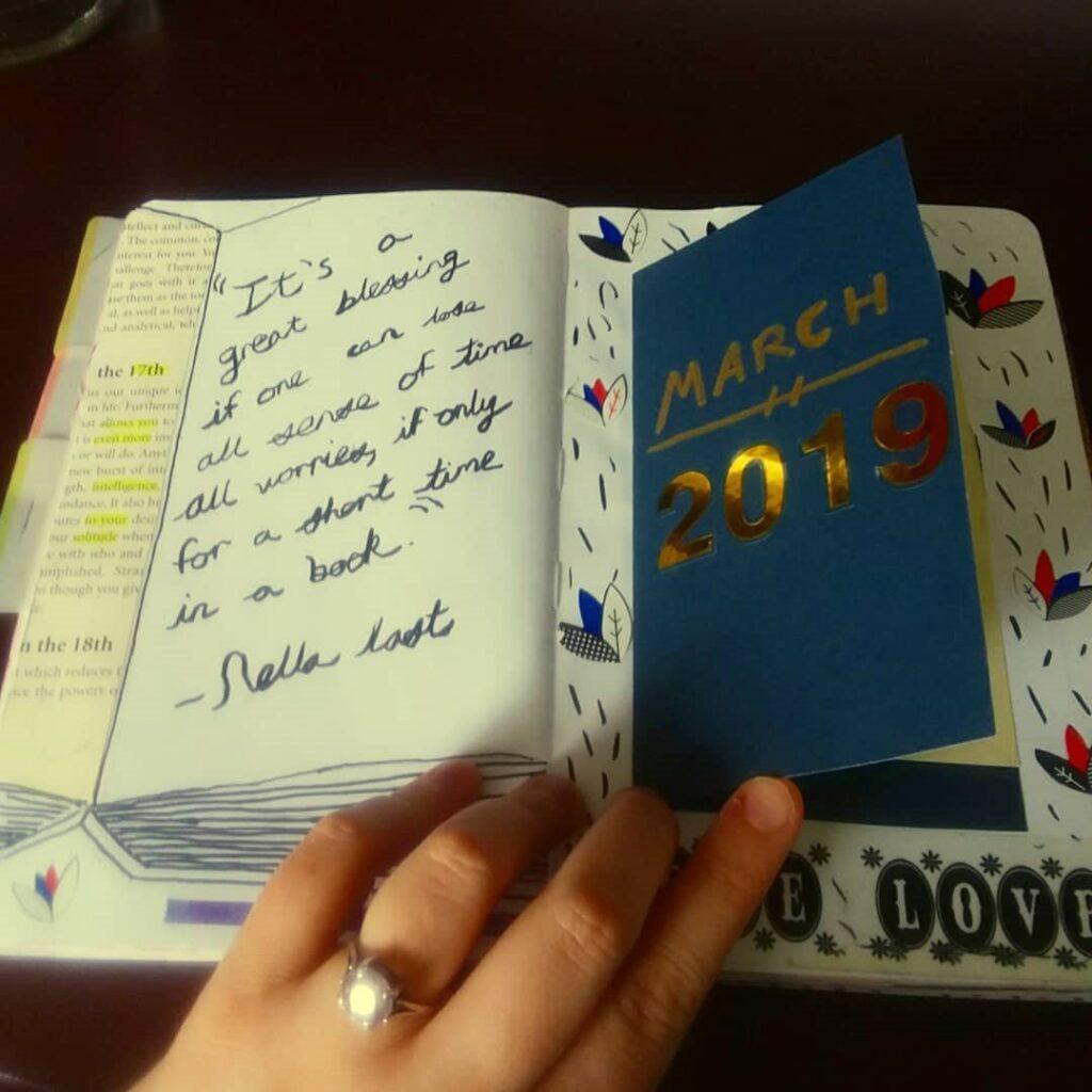 Little Book March Bullet Journal Idea