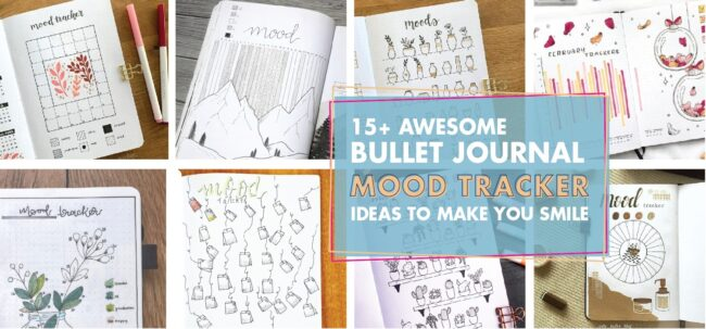 15 bullet journal mood tracker ideas