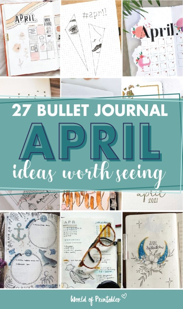 27 bullet journal ideas worth seeing