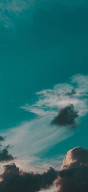 Blue Clouds iPhone Wallpaper