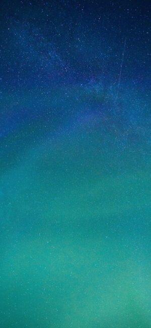 Blue Galaxy Phone Wallpaper